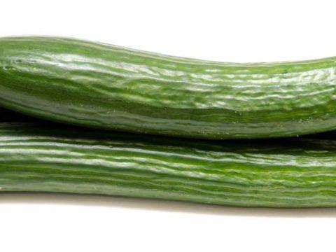Komkommer koken