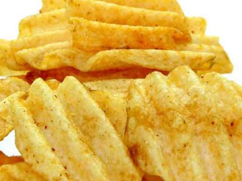 Aardappelchips bakken