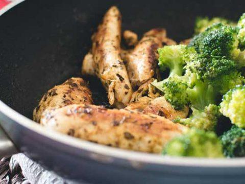 Broccoli bakken